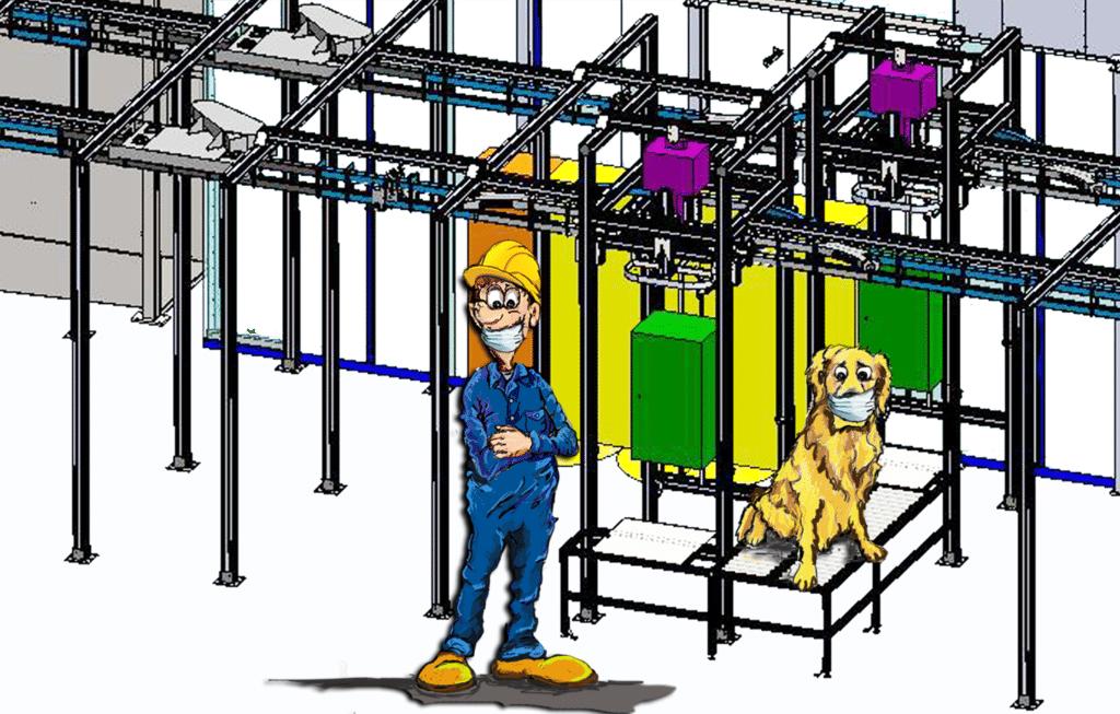 Process Engineering, Overhead Conveyors